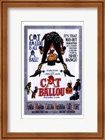 Cat Ballou Film Wall Poster