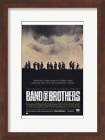 Band of Brothers Silhouette Wall Poster