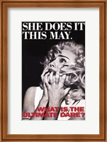 Truth or Dare She Does It This May Wall Poster