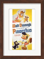Pinocchio Geppetto Wall Poster