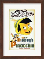 Pinocchio Playing Ocotillo Wall Poster