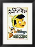 Pinocchio Playing Ocotillo Wall Poster
