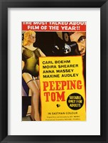 Peeping Tom Anna Massey Maxine Audley Wall Poster