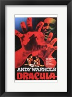 Andy Warhol's Young Dracula Movie Fine Art Print