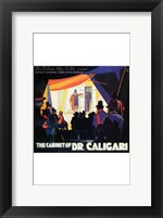 The Cabinet of Dr Caligari - dark Wall Poster