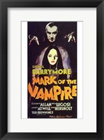 Mark of the Vampire Wall Poster