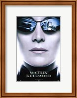 The Matrix Reloaded Trinity Wall Poster