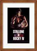 Rocky 4 Stallone Fine Art Print