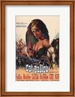 Cat Ballou Jane Fonda Wall Poster
