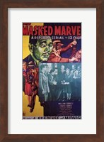 The Masked Marvel - green face Wall Poster
