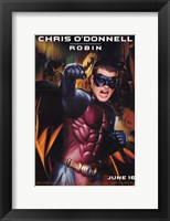 Batman Forever Chris O'Donnell as Robin Wall Poster