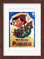 Pinocchio French Wall Poster