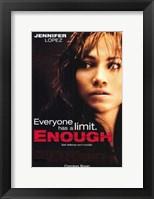 Enough Wall Poster
