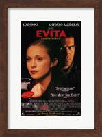 Evita Antonio Banderas Wall Poster