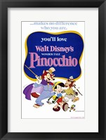 Pinocchio Makes No Difference Who You Are Wall Poster