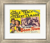 Boom Town Wall Poster