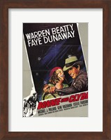 Bonnie and Clyde Warren Beatty Wall Poster