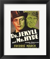 Dr Jekyll and Mr Hyde March Hopkins Wall Poster