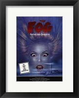 The Fog - Woman Face Wall Poster