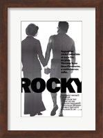Rocky Silhouette - German Wall Poster