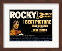 Rocky Horizontal Wall Poster