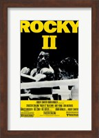 Rocky 2 Punched Wall Poster