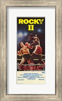 Rocky 2 fighting Wall Poster