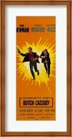 Butch Cassidy and the Sundance Kid Sunburst Wall Poster