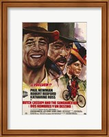 Butch Cassidy and the Sundance Kid Drawing Wall Poster