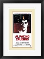 Cruising Pacino Silhouette Wall Poster
