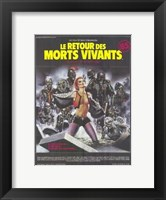 Return of the Living Dead French Wall Poster