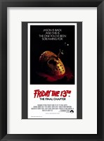 Friday the 13Th Part 4 --The Final Chapter Fine Art Print