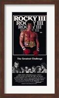Rocky 3 The Greatest Challenge Fine Art Print