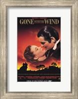 Gone with the Wind Scarlett O'Hara & Rhett Butler Fine Art Print