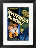 Mysterious Mr Wong Wall Poster