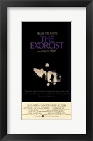 The Exorcist Black and White Wall Poster