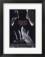Freddy Vs Jason Wall Poster
