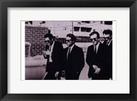 Reservoir Dogs B&W Scene Fine Art Print