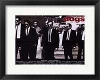 Reservoir Dogs Black and White Fine Art Print