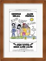 Fun with Dick and Jane Segal Fonda Wall Poster