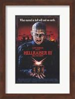 Hellraiser 3 Hell on Earth Wall Poster