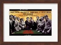 Oceans 11 Colpo Grosso Pool Table Fine Art Print