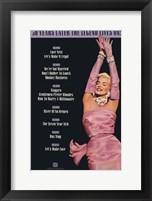 Marilyn Monroe - Movies on Fox Fine Art Print