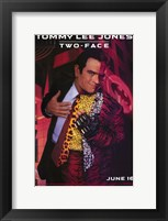 Batman Forever Tommy Lee Jones as Two-Face Wall Poster