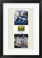 2001: a Space Odyssey Tall Fine Art Print