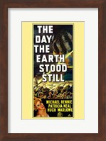 The Day the Earth Stood Still Michael Rennie Wall Poster
