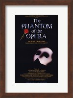 The Phantom of the Opera Broadway Musical Fine Art Print