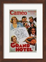 Grand Hotel - cameo Wall Poster