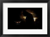 Batman Begins Silhouette Wall Poster