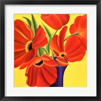 Sunny Tulips Fine Art Print